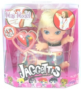 Mini Model - Jaggettis Puppe - Famosa Jaggets