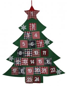 megashop 2000 adventskalender tannenbaum zum aufh ngen und bef llen. Black Bedroom Furniture Sets. Home Design Ideas