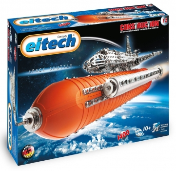 Eitech C 12 Construction Metallbaukasten - Space Shuttle Deluxe