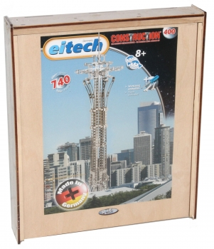 Eitech C 400 Construction Metallbaukasten - Space Needle Deluxe