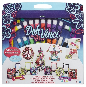 Hasbro 60595 - PlayDoh DohVinci Design Set 60 tlg.