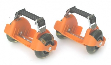 Fersenroller orange - Flashing Roller mit Licht