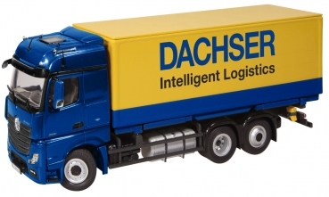 NZG 8451-02 - MB Actros 6x2 LKW Dachser - BW